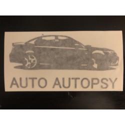 Auto Autopsy Decal (BLACK)